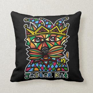 "Almofada Do ""travesseiro decorativo do Kat"" BuddaKats bobo"