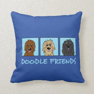 Almofada Doodle Friends