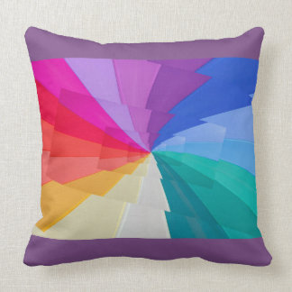 Almofada droste multicoloured do efeito no coxim