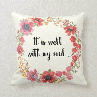 Almofada É bem com meu travesseiro das citações do hino da