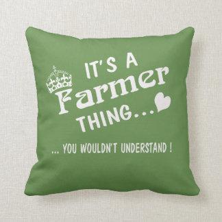 Almofada É uma coisa do fazendeiro