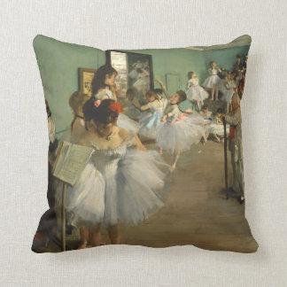 Almofada Edgar Degas a classe de dança