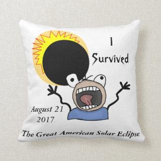 Almofada Edição da sobrevivência do eclipse 2017 solar