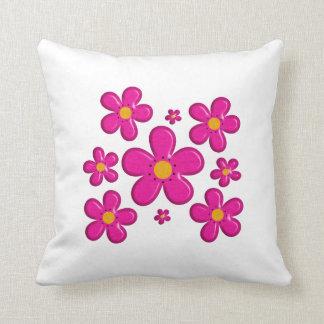Almofada Elemento cor-de-rosa floral