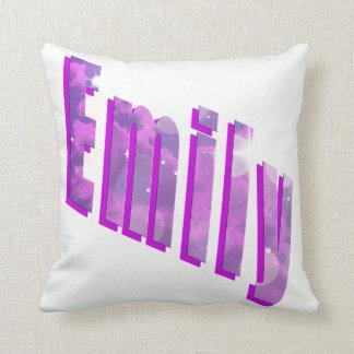 Almofada Emily, coxim dimensional conhecido do branco do