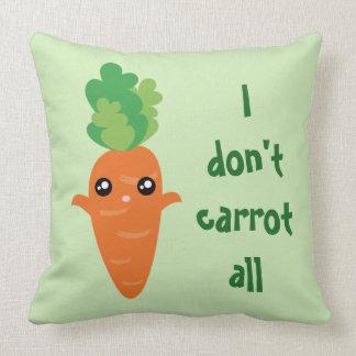 Almofada Engraçado eu não faço cenoura todos os desenhos