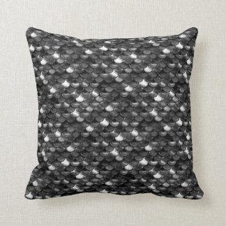 Almofada Escalas preto e branco de Falln