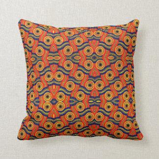 Almofada Escolha o azul africano do travesseiro decorativo