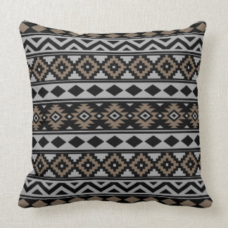 Almofada Essência asteca Ptn IIIb Brown cinzento preto