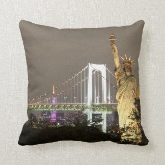 Almofada Estátua da liberdade & skyline de New York