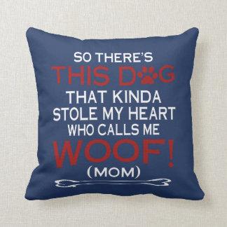 Almofada Este cão roubou meu coração!