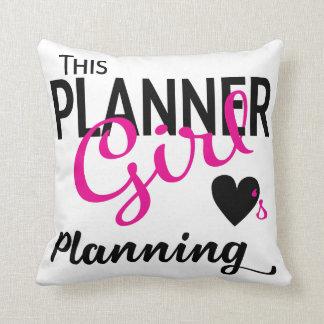 Almofada Este travesseiro do planeamento do amor da menina