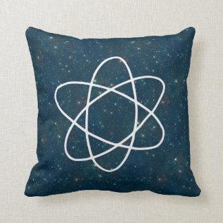 Almofada Estrelas da ciência do teste padrão do espaço na