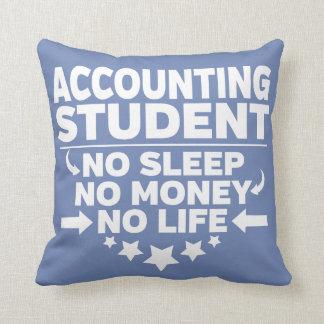 Almofada Estudante universitário da contabilidade nenhum