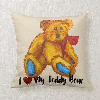 Almofada Eu amo meu urso de ursinho