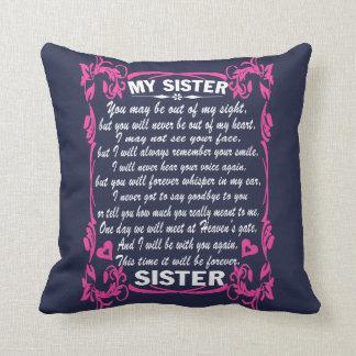 Almofada Eu amo minha irmã