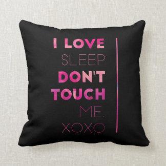 Almofada Eu amo o sono
