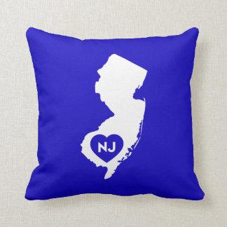Almofada Eu amo o travesseiro decorativo do estado de
