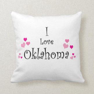 Almofada Eu amo Oklahoma