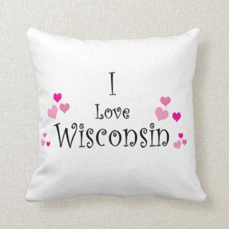 Almofada Eu amo Wisconsin