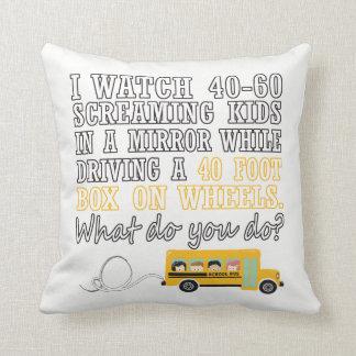 Almofada Eu conduzo um auto escolar