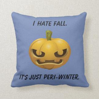 Almofada Eu deio a queda--É apenas Peri-Inverno