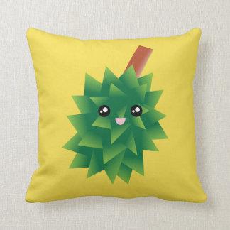 Almofada Eu sou o rei do Durian Kawaii Manga das frutas
