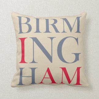Almofada Eu sou travesseiro decorativo de Birmingham