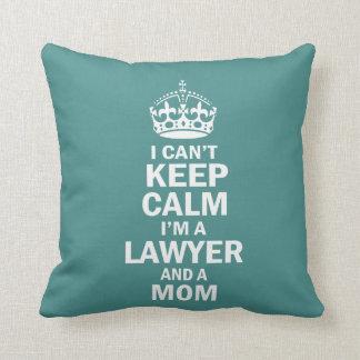 Almofada Eu sou um advogado e uma mamã