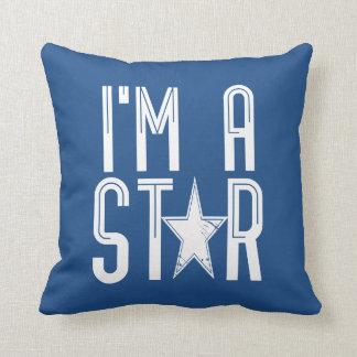 Almofada Eu sou uma estrela
