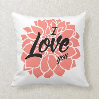 Almofada Eu te amo travesseiro