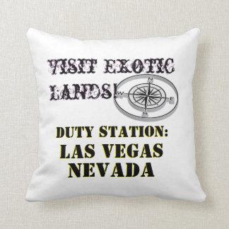 Almofada Excursão de Las Vegas Nevada da cidade da excursão