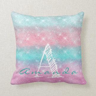 Almofada Faísca cor-de-rosa conhecida do oceano de Ombre