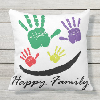Almofada Família feliz