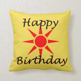 Almofada Feliz aniversario