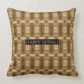 Almofada Festival feliz de Diwali do teste padrão