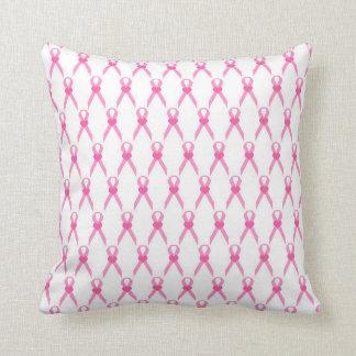 Almofada Fita cor-de-rosa com um travesseiro pequeno do