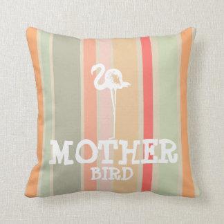 Almofada Flamingo do travesseiro do pássaro da mãe