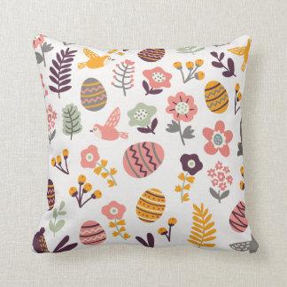 Almofada Flor cor-de-rosa do ovo do coelho do travesseiro