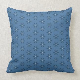 Almofada Flor da estrela azul