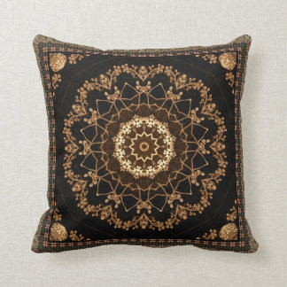 Almofada Flor Textured da mandala