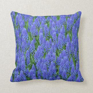Almofada Flores azuis do muscari