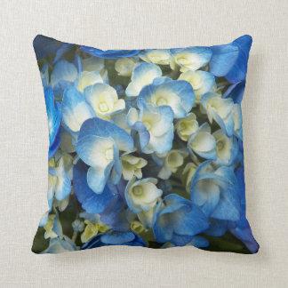 Almofada Flores azuis florais