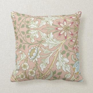 Almofada Flores bonito e videiras no travesseiro decorativo