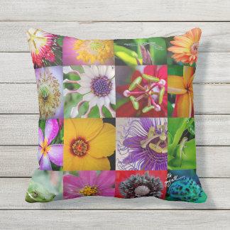 Almofada Flores e travesseiro das criaturas
