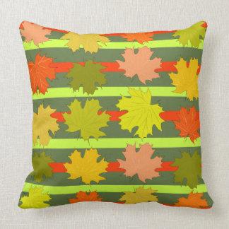 Almofada Folhas de queda no outono