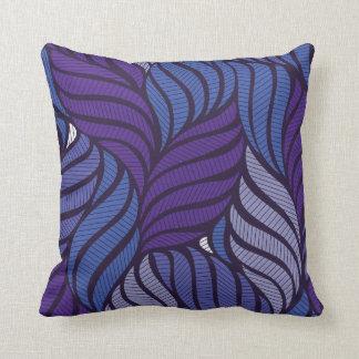 Almofada Folhas violetas