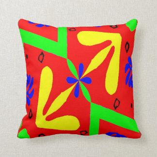 Almofada Formas coloridas do estilo de Matisse