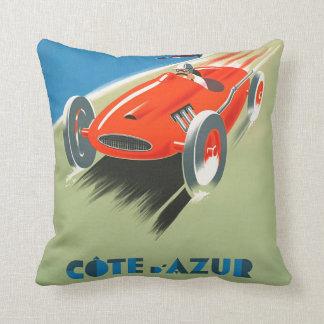 Almofada Fórmula 1 do vintage que compete o travesseiro