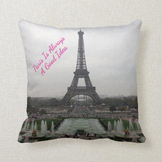 Almofada Foto da torre Eiffel, Paris, France